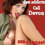 Phone sex with Dr Devon - 888-574-5446