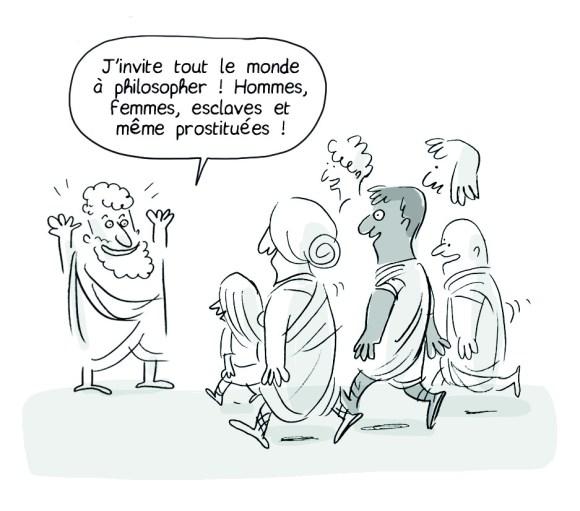Philocomix : philosopher, c'est s'ouvrir aux autres.