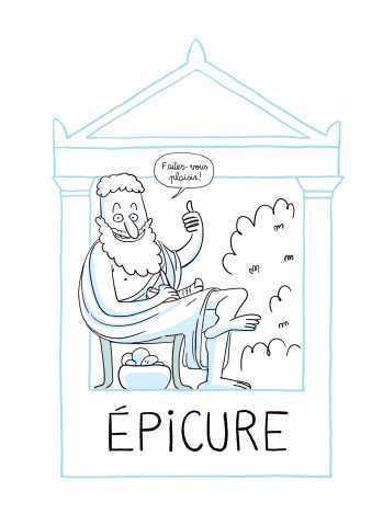 Épicure est un philosophe mal compris et calomnié