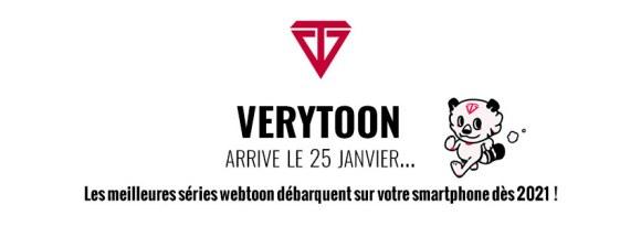 Lancement de Verytoon le 25 janvier 2021 !
