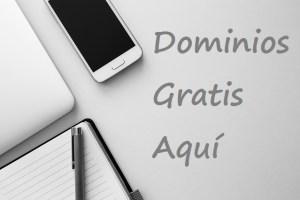 como registrar un dominio gratis