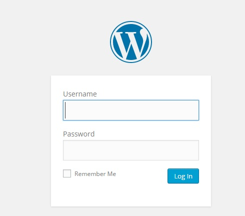 inicio de sesion en wordpress
