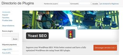 instalar plugins seo wordpress