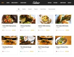 hacer blogs de recetas de cocina