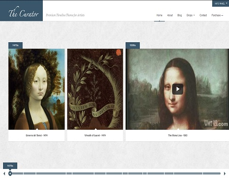 como crcear sitios web de arte