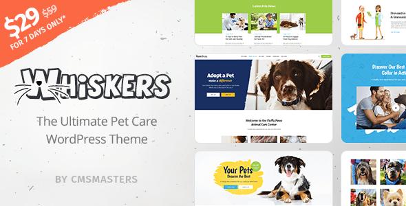 Temas Wordpress Para Mascotas - Clínica Veterinaria - Adopción De ...