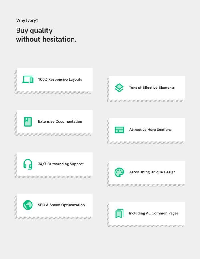 ¿Por qué plantilla HTML5 marfil?