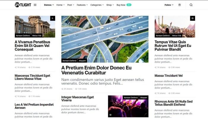 themes de wordpress portal de noticias