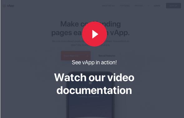 vApp tutoriales en video