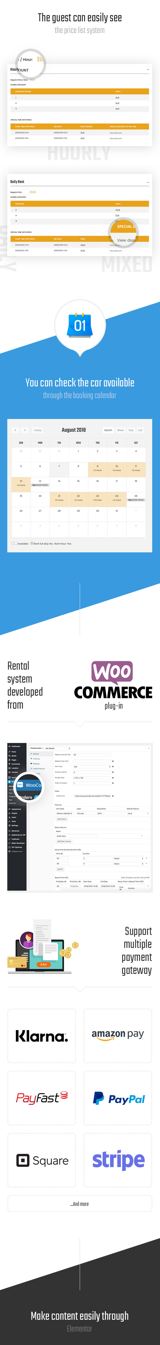 Ireca - Sistema de alquiler de automóviles, barcos, motocicletas y vehículos con temática WordPress