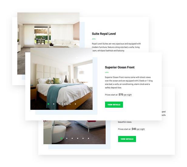Sistema de reserva de alojamiento