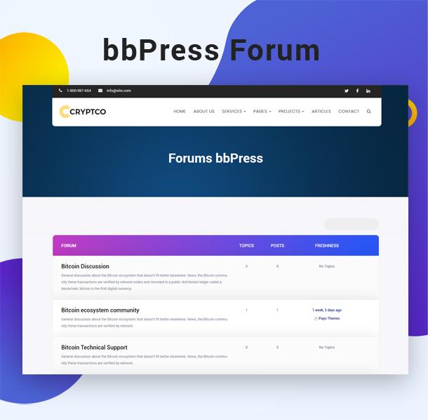 Tema de WordPress de Bitcoin