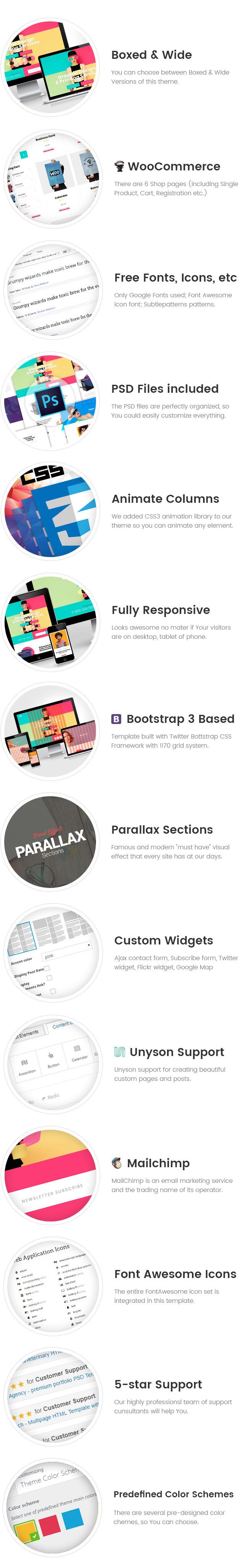 ColorLab - Tema WordPress para Servicios de Impresión