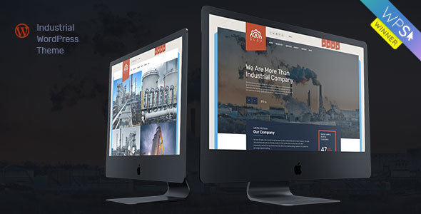 Tema WordPress de la industria