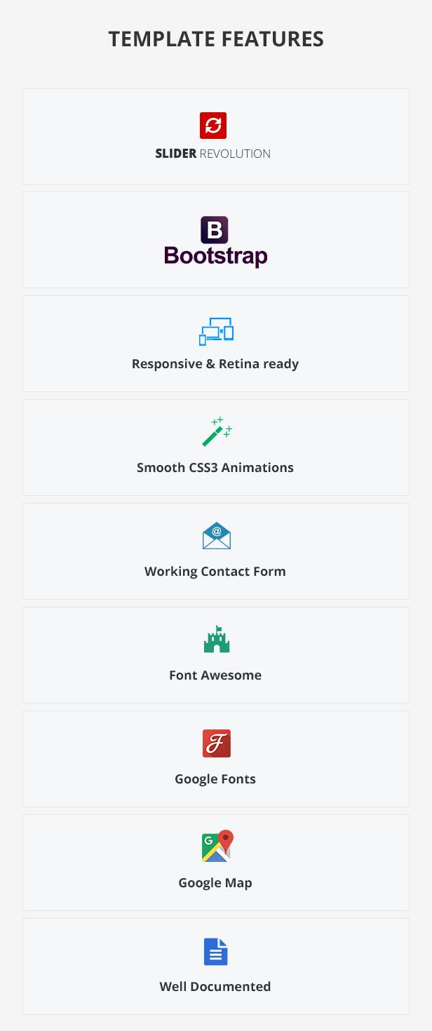 Continal - Plantilla HTML5 para la industria de la construcción 4