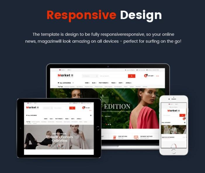 Sj Market II - Plantilla Responsive Joomla Creative eCommerce