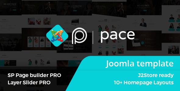 Pace - Tema Joomla responsivo para múltiples propósitos con Page Builder - Corporate Joomla