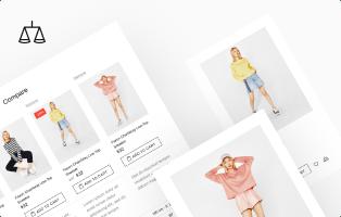 Comparar la característica de productos en el tema de Shella Shopify