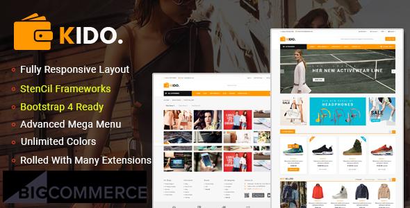 Kiko: tema de BigCommerce sensible a la plantilla multiusos y listo para AMP de Google