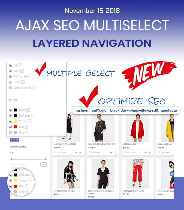 Navegación en capas múltiples Ajax SEO