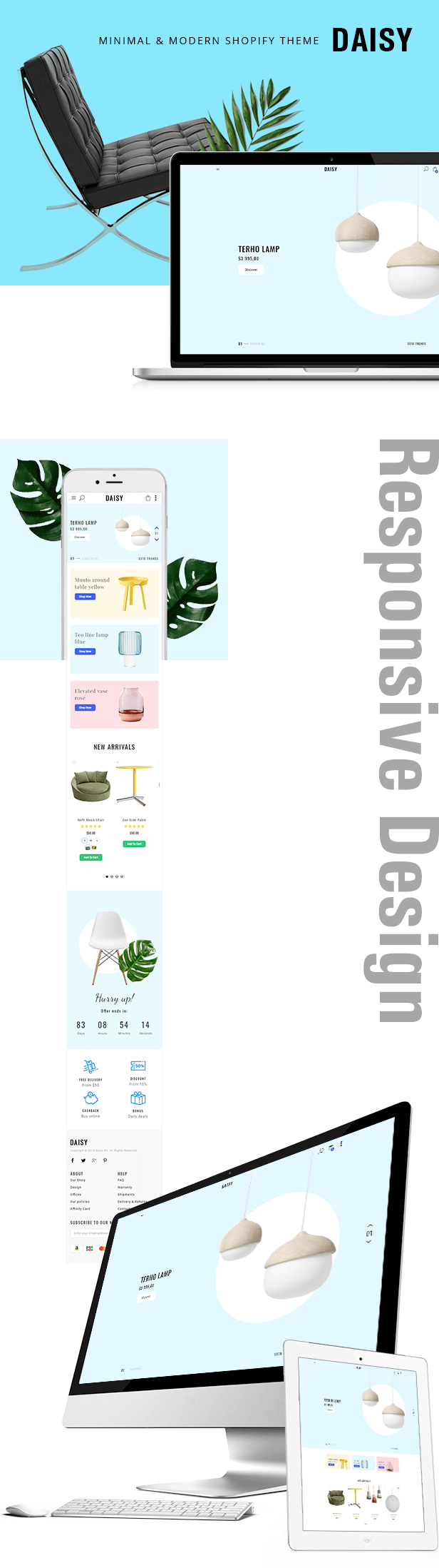 Shopify Daisy Responsive