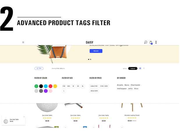 Shopify Daisy Filter