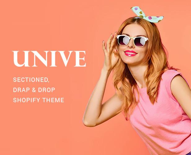 Tema Unive Shopify