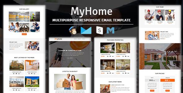 Dígito - Plantilla de correo electrónico sensible con múltiples propósitos con Stampready Builder y Mailchimp Access - 3