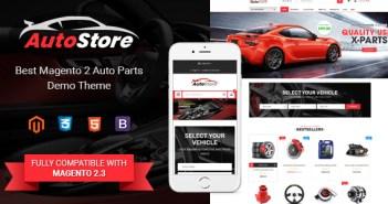 AutoStore - Tema Magento 2 para partes de automóviles y equipos con el módulo de búsqueda de atributos Ajax