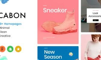 Cabon - Minimal Clean Multiple Shopify Theme