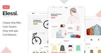 Elessi - Tema responsivo de Shopify