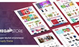MegaStore - Súper mercado eCommerce Shopify tema