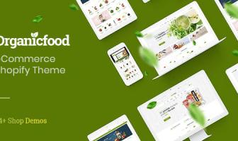 OrganicFood - Tema de Shopify en el comercio electrónico