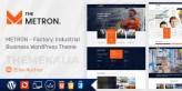 Metron: tema de WordPress para la industria y los negocios de fábrica