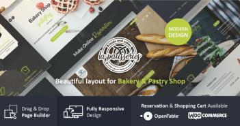 Patistry - Cake & Bakery Tema WordPress