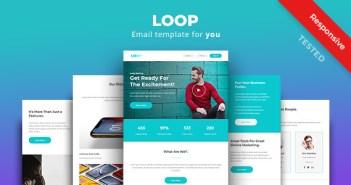 Loop - Plantilla de boletín informativo - correo electrónico polivalente