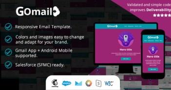 Plantilla de correo electrónico sensible - También en la aplicación Gmail (Android) - Salesforce (SFMC): listo para importar