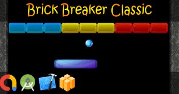 Brick Breaker Classic - Buildbox + iOS Xcode 10 + Android Studio + Admob + GDPR + API 27 + Eclipse