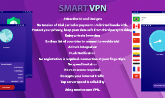 Smart VPN - VPN gratis ilimitado
