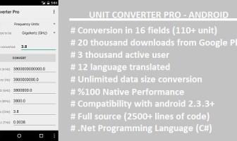 Unit Converter Pro - Xamarin Android