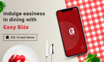 EasyBite | Aplicación de reserva de restaurante | plantilla iOS