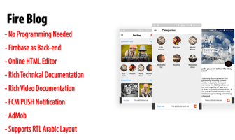 Blog de Fuego   Blog nativo de Android o aplicación de noticias con Firebase Back-end