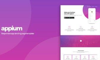 Appium | Plantilla de la página de destino de la aplicación