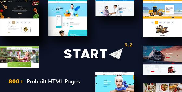 CV comercial - CV en línea y portafolio personal de HTML5 - 4