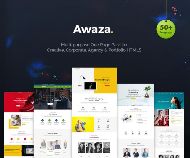 Awaza - Una página multipropósito - 2