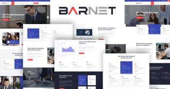 Barnet - Plantilla HTML de servicios de consultoría de negocios y servicios profesionales