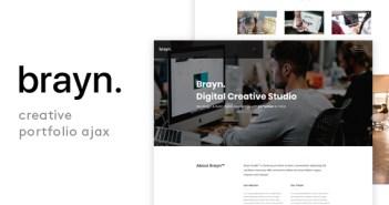 Brayn - Plantilla Ajax de Creative Portfolio Agency