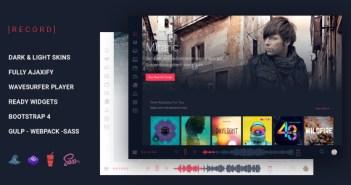 Rekord Music Event Plantilla HTML multipropósito