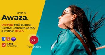 Awaza - Una página de usos múltiples