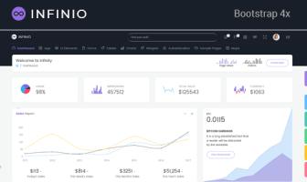 InfiniO - Laravel + Bootstrap Admin Template